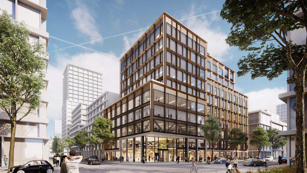 Definitief ontwerp kantoorgebouw Hettenheuvelweg 26 Amsterdam goedgekeurd door supervisie