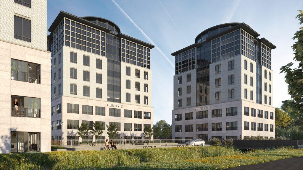 Appartementcomplex Trinity Buildings Amstel III opgeleverd door Certitudo Capital